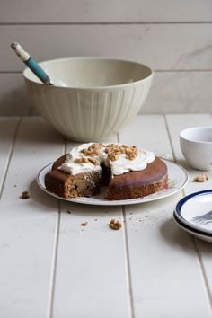 Amaranth Coffee And Walnut Cake (gluten free) - Cook Republic