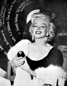 Marilyn is named Miss Press Club 1953.