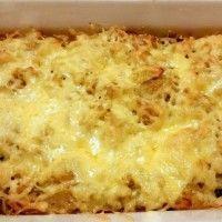 Rösti ovenschotel met kip en spinazie : Recepten van Domy