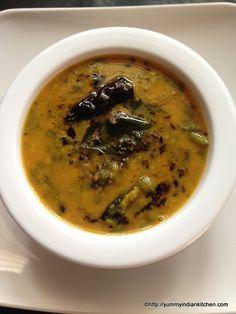 Palak-dal-recipe or Spinach Dal Recipe...