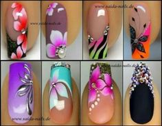 Nail art training - Straubing, GER) - Saida Nails - Your shop for professional nai Lace Nails, Flower Nails, Fabulous Nails, Gorgeous Nails, Hot Nails, Swag Nails, Jolie Nail Art, Gel Nail Designs, Nails Design