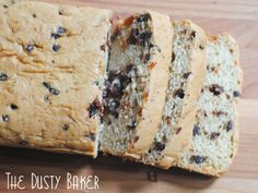 Gluten-Free Chocolate Cherry Bread - Baked with Love