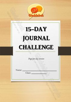 'n vir leerders. Bladsy-per-dag-formaat met spasie vir skryf en teken. Sluit 'n lys onderwerpe en 'n sertifikaat van voltooiing in. Journal Challenge, Certificate Of Completion, Afrikaans, Creative Writing, Challenges, Cards Against Humanity, Day, Drawing, Space