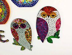 Cute Owl Mosaics