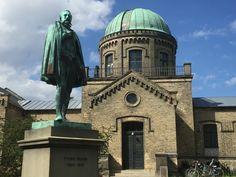Tycho Brahe statue in Botanisk Have