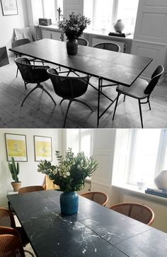 handvark Rental Kitchen, Dining Room, Dining Table, Industrial House, Cozy Living Rooms, Ikea, Sweet Home, New Homes, Interior Design