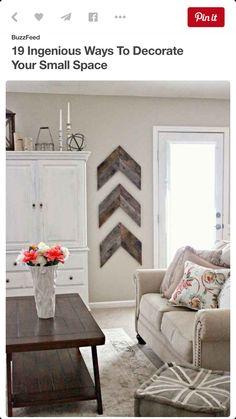 Wood wall hangings, love