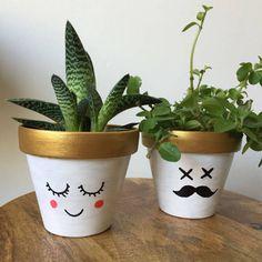 Bleach Fanart, Plant Painting, Cactus Y Suculentas, Quote Posters, Room Decor Bedroom, Potted Plants, Flower Pots, Planter Pots, Decoration