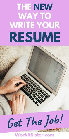 "The NEW Way to Write Your Resume to Get a Job Interview! Find out the new resume writing hacks to help you get your dream interview and job! This is more than just ""how to write a resume"". Resume Advice, Resume Writing Tips, Resume Help, Career Advice, Resume Ideas, Resume Examples, Cover Letter Tips, Cover Letters, Job Hunting Tips"
