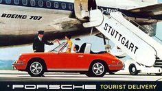 *Tourist Delivery /// Porsche