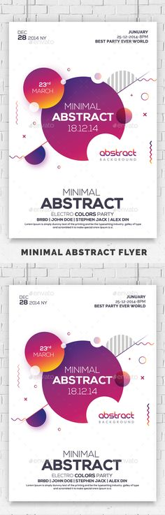 Abstract Minimal Flyer Psd — Photoshop PSD #lights #abstraction • Available here ➝ https://graphicriver.net/item/abstract-minimal-flyer-psd/20775055?ref=pxcr