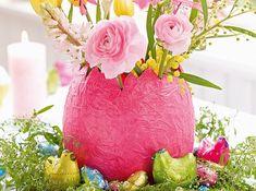 Ei-Vase aus Pappmaché