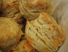 Cheddar Chive Biscuits! These were fantastic!