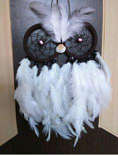 Aura's White Owl Dreamcatcher