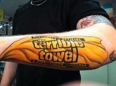 Terrible Towel Tattoo