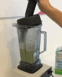 ...dump everything into the blender, and puree until smooth!
