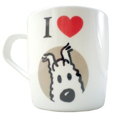 Tintin Mug | I Love Snowy http://www.bloomsburystore.com/home_interior/home_brands/tintin_brand/mug_i_love_milou_snowy.htm