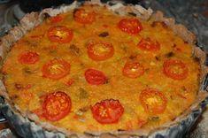 Chef Jeenas food recipes: Red Lentil Vegetarian Flan Recipe