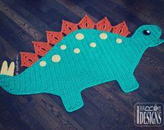CROCHET PATTERN The Pugfect Pug Rug Nursery Mat por IRAROTTpatterns