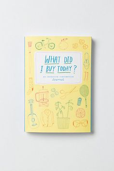 Portland-based artist Kate Bingaman-Burt brings us this week-by-week mini-ledger to creatively track purchases big and small. Burt began logging her own daily expenditures in 2006 with fun, itemized sketches that became a budgeting tool. A must-have for anyone looking to get savvy with their savings, this colorful journal will help to create a wiser (and perhaps richer) consumer.