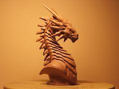 ArtStation - Dragon Bust, Csaba Szilagyi