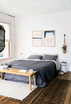 bright + airy bedroom feels