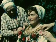 Video on dressing a bride from Leksand 1951
