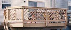 railing Wood Railing, Railing Ideas, Deck Railings, Lake Homes, Remodeling Ideas, Front Porch, Garden Landscaping, Landscape, Building