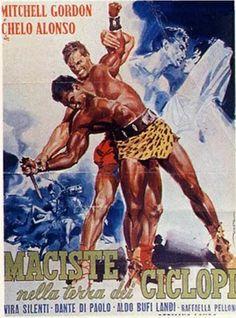 Maciste, peplum, movie poster, homoerotic