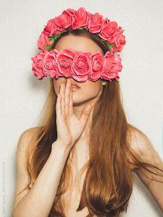 Flower girl by Danil Nevsky #stocksy #realstock