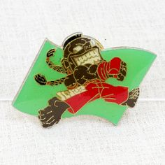 Street Fighter 2 Metal Pins Badge Dee Jay Capcom Character JAPAN GAME 3