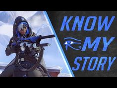 Overwatch Lore : Ana Amari Story And Why She Left Pharah Behind / Mother Knows Best - YouTube