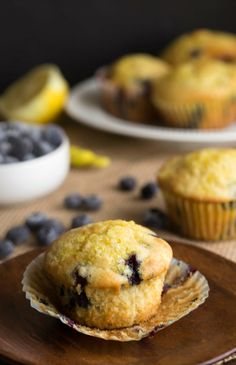 "<p><span style=""color: #555555; font-family: 'Open Sans', 'Helvetica Neue', Helvetica, Arial, sans-serif; font-size: 14px; line-height: 25px;"">The buttermilk and ricotta in this recipe help to make the muffins nice and tender. They're full of blueberries, and the lemon sugar really puts these muffins over the top. Get the recipe <strong><a href=""http://www.ihearteating.com/2015/04/10/blueberry-lemon-ricotta-muffins/"" target=""_blank"">here.</a></strong></span></p>"