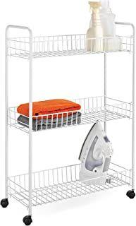 Amazon Com Slim Kitchen Cart In 2020 Laundry Cart Honey Can Do