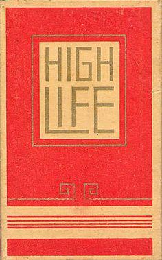 MR. MULE's TYPOGRAPHIC SHOWROOM AND EMPORIUM: Vintage Cigarette Packs 2