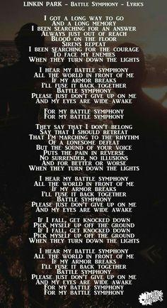 Battle Symphony - Lyrics - One More Light - Linkin Park Chester Rip, Linkin Park Chester, Charles Bennington, Chester Bennington, Music Is My Escape, Music Is Life, Bedtime Music, Good Goodbye, Marching Bands