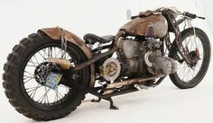 Rat rod bike that's down to earth..