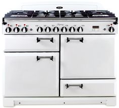 AGA Legacy Vintage White with solid doors
