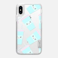 Casetify iPhone X Classic Grip Case - Coffee makes me happy by Famenxt