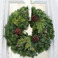 Fresh Greenery Wreaths - Bing images
