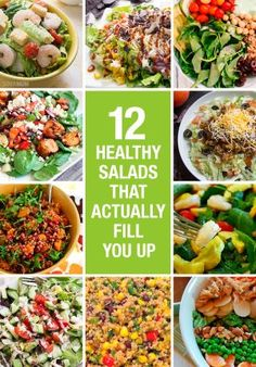 Check out these delicious salad recipes that won't leave you with an empty stomach!