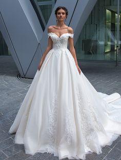 b363fada18 Crystal Design  ELVA dress. Ball Gown Wedding Dresses