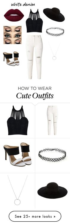 """""""super cute outfit"""" by jinxxbabyx on Polyvore featuring Eugenia Kim, Forever 21 and Roberto Coin"""