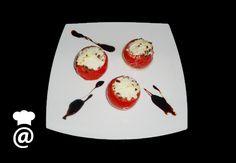 Tomates rellenos de queso light
