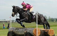 Emma Hyslop-Webb riding PENNLANDS DOUGLAS during Little Downham Horse Trials, at Ely Eventing Centre, Little Downham, Ely, Cambridgeshire, UK on 5th June 2015