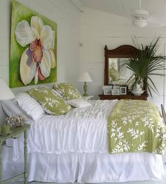 lime coastal-decor