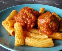 Rezept Polpette Napoli mit Nudeln von Giu Giuci - Rezept der Kategorie Hauptgerichte mit Fleisch