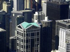 Madison Plaza United Center, Willis Tower, The Unit, Building, Buildings, Construction