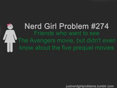 Seriously, why would anyone be interested in watching the Avengers if they hadn't seen the prequels? If you didn't watch the prequels you're left wondering WHY the characters are the way they are.