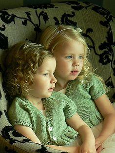 Ravelry: Blossom Bolero (child sizes) pattern by StitchyMama